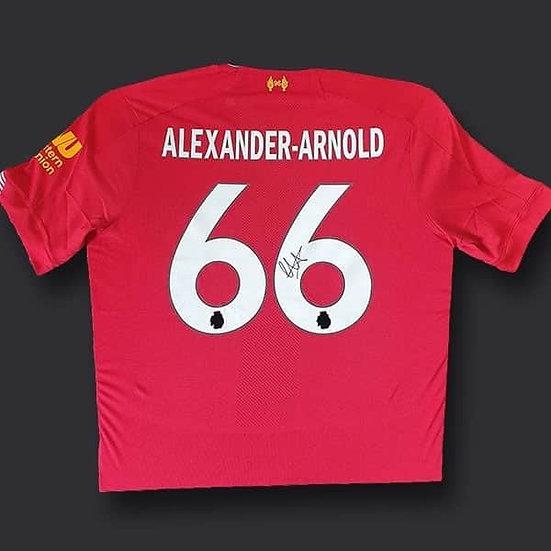 Trent Alexander-Arnold Liverpool Signed Shirt 19/20