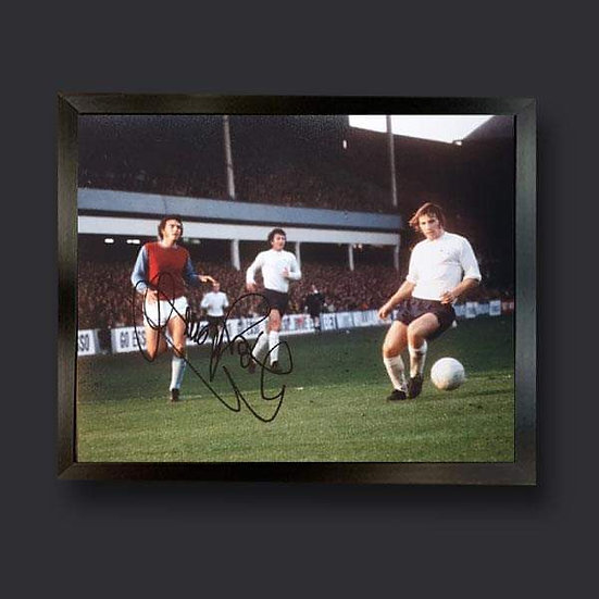 Trevor Brooking , 12 x 8 West Ham Signed Picture