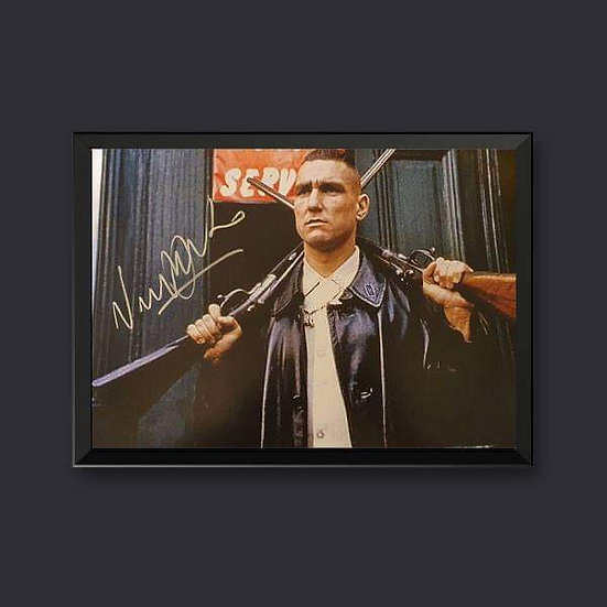 Vinnie Jones Signed Picture