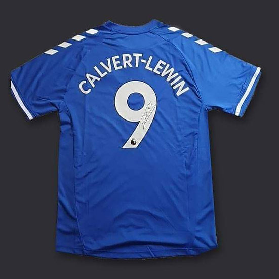 Dominic Calvert-Lewin  Signed Everton 20/21 Shirt