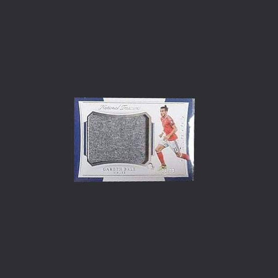 Gareth Bale Wales Panini National Treasures Colossal Patch Worn Card 33/99
