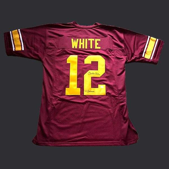 Charles White Signed University of Southern California NFL Jersey Shirt