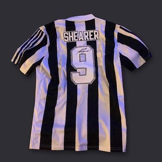 Alan Shearer Signed Newcastle United Shirt