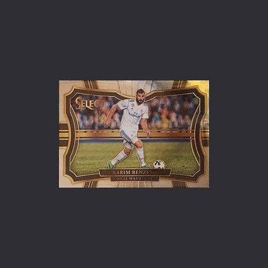 Karim Benzema Select Soccer Real Madrid Field Level Base Card