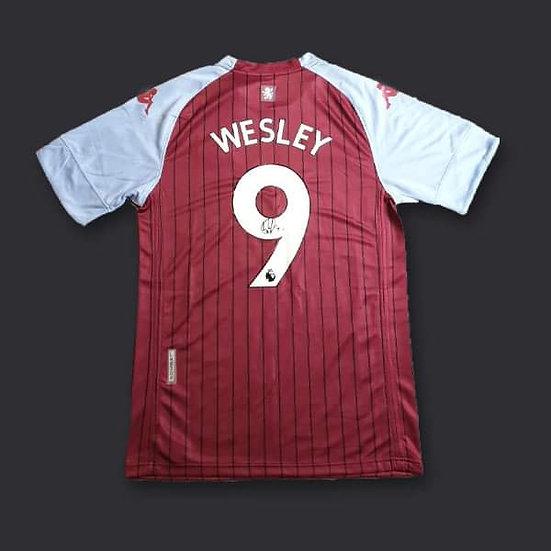 Wesley Signed Aston Villa 20/21 Shirt