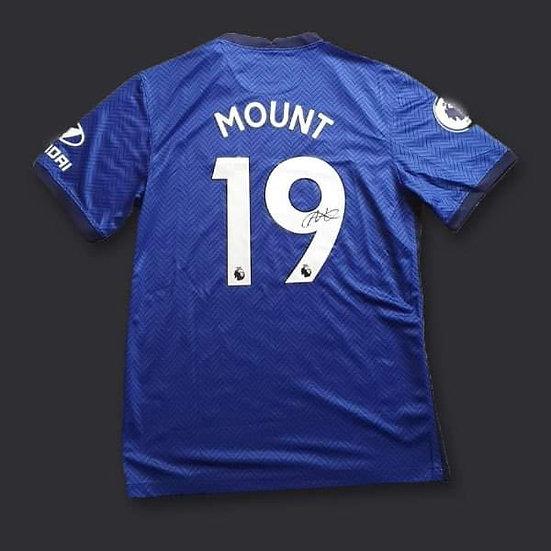 Mason Mount Signed Chelsea 20/21 Shirt