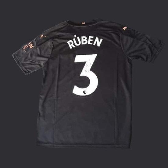 Rúben Dias Signed Manchester City 20/21 Shirt