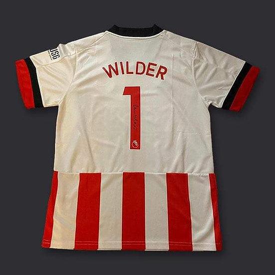 Chris Wilder Signed Sheffield United 20/21 Shirt