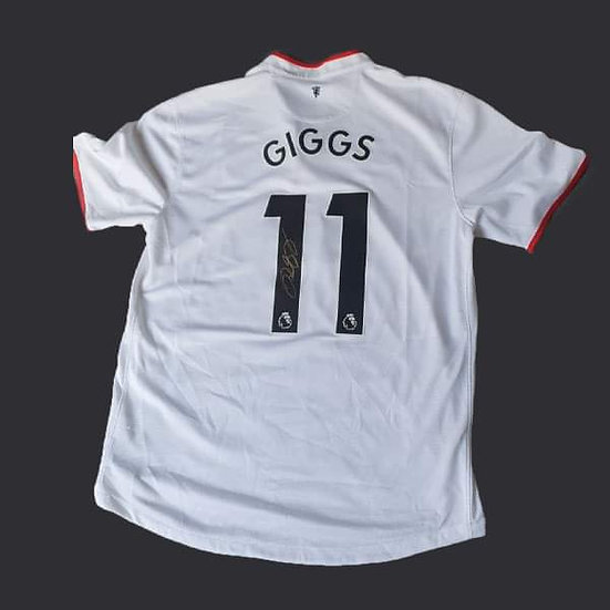 Ryan Giggs Manchester Signed 13/14 Shirt