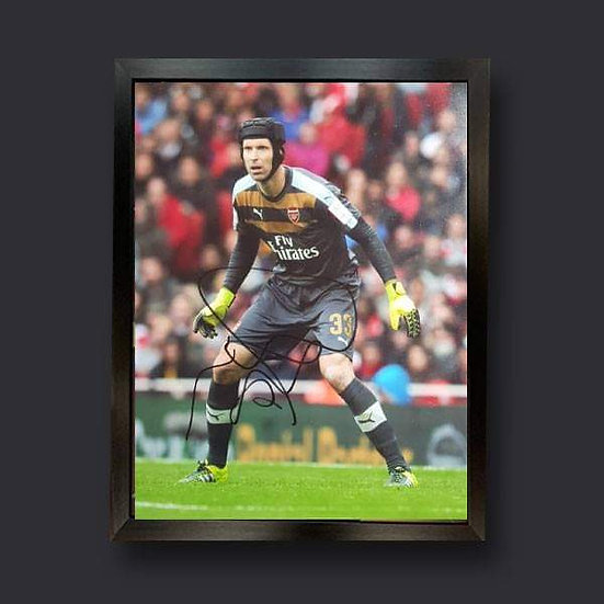 Petr Cech, 10 x 8 Arsenal Signed Picture