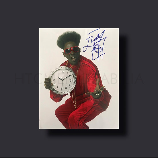Flavour Flav Signed Picture