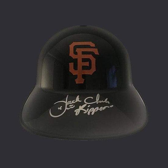 Jack Clark Display Baseball Helmet San Francisco Giants