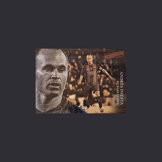 Andres Iniesta Aficionado Barcelona Card