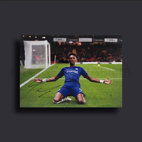 Tammy Abraham Chelsea Signed Picture
