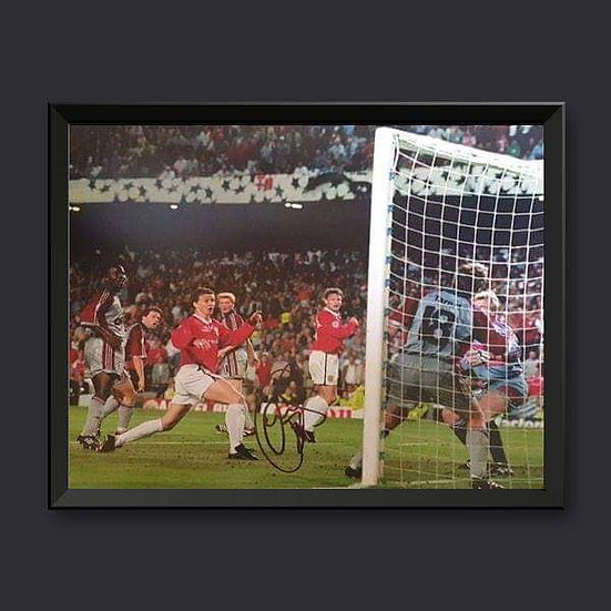 Ole Gunnar Solskjær Manchester United Signed Picture
