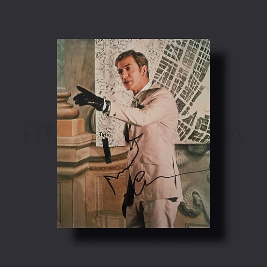 Michael Caine Signed Picture