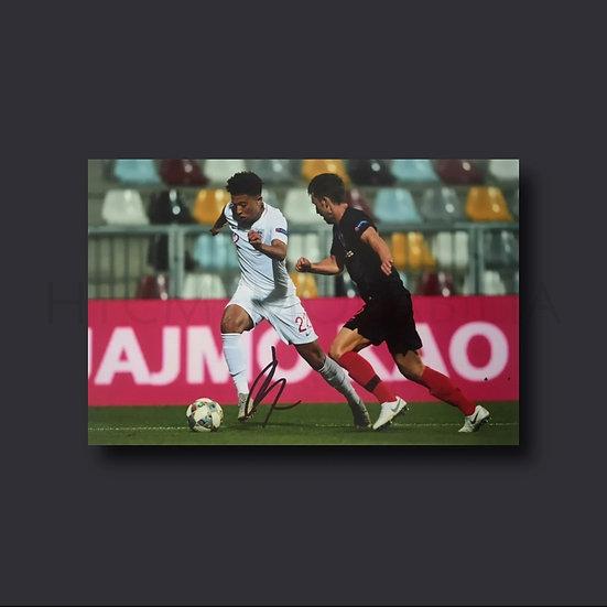 Jadon Sancho England Signed Picture