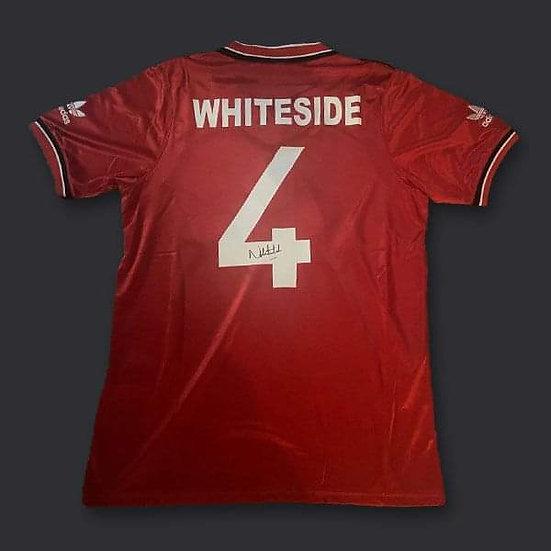 Norman Whiteside Signed Manchester United Shirt