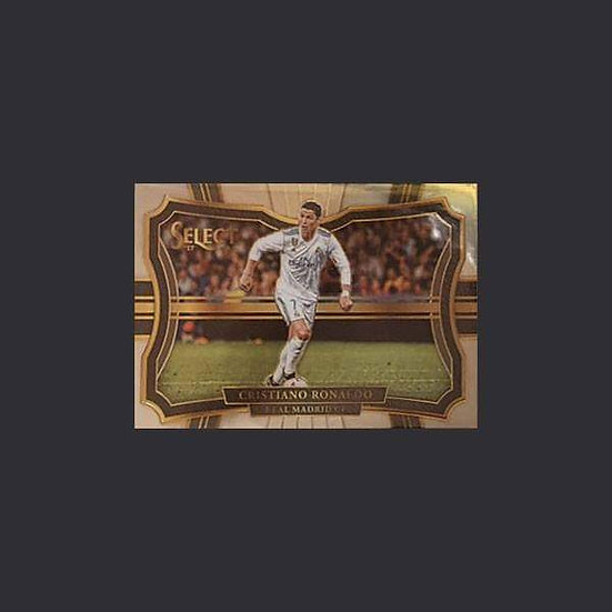 Cristiano Ronaldo Select Soccer Real Madrid Field Level Base Card