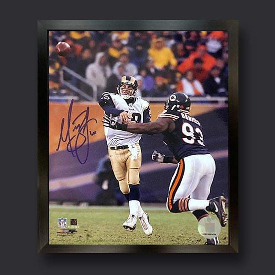 Marc Bulger Signed Los Angeles Rams American Football Picture
