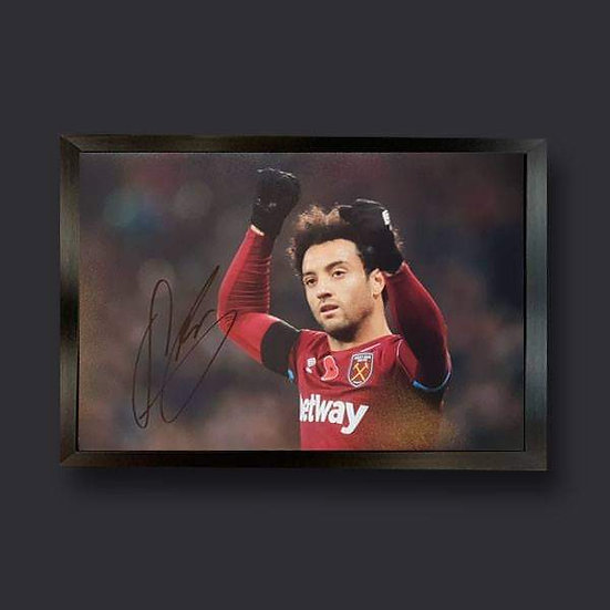 Felipe Anderson , 12 x 8 West Ham Signed Picture