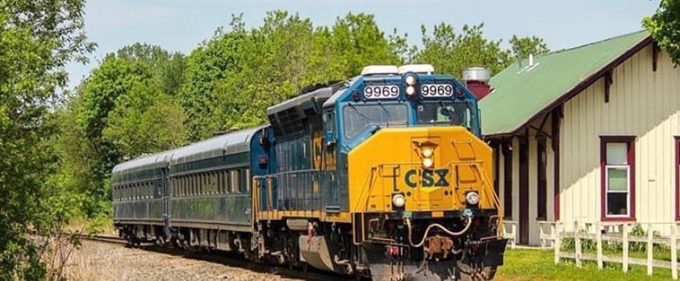 CSX Inspection Train