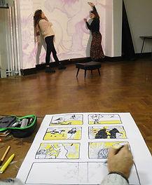 cours-bande-dessinée-bd-illustration-Bru