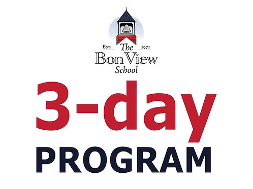 Tuition: 3-Day Program