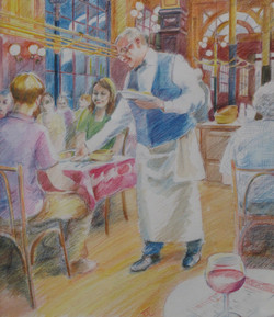 Chartiers Too - Watercolour pencil