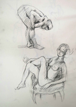 Two Quick Sketches.