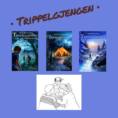 Trippelgjengen, alle tre bøkene samlet