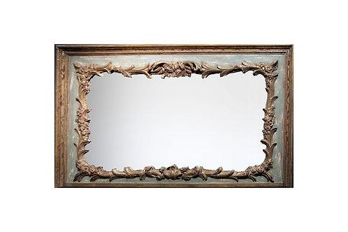 Carved Antique Mirror