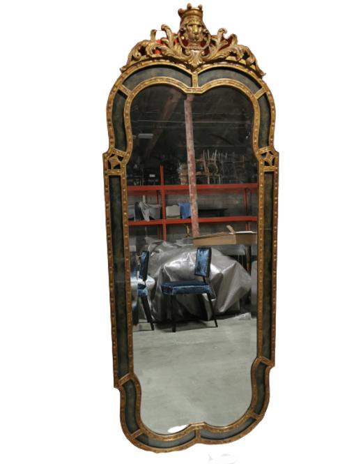Reverse Painted Mirror