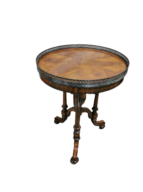 Aged Regency Mahogany Occasional Table