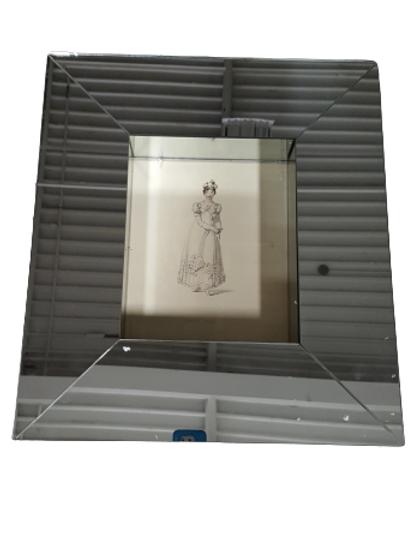 Lady II - Giclee In Mirrored Frame