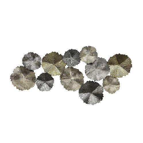 Metal Wall Decor - Lily Pads