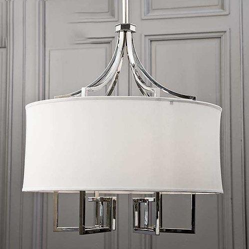 Metal Chandelier (Bulbs not incl.)