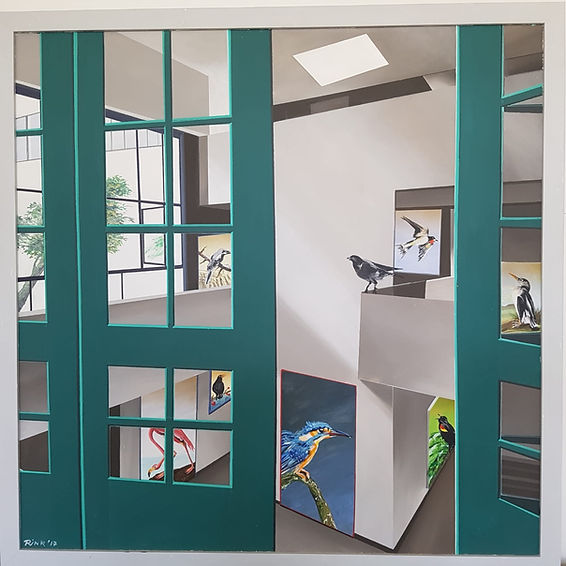 Hanno Rink le Corbusier had a bird, 2018