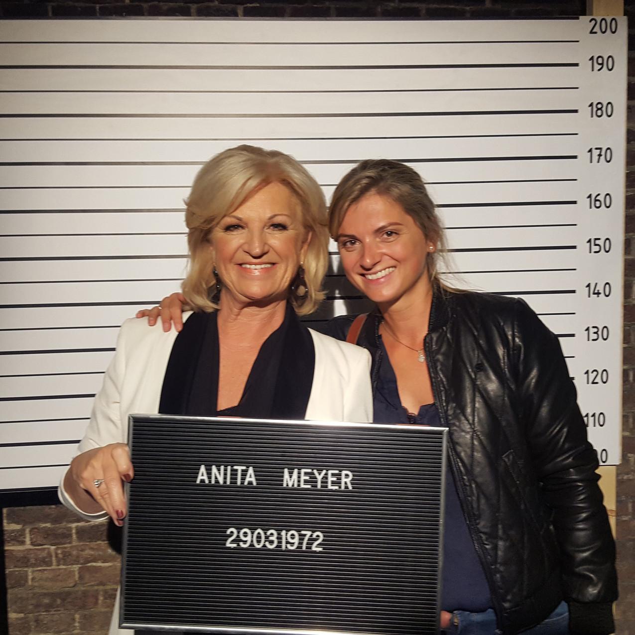 Toch even samen op de foto met Anita Meyer!