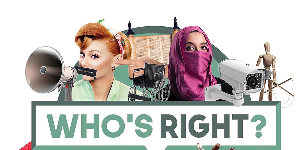 Who's Right festival 2021