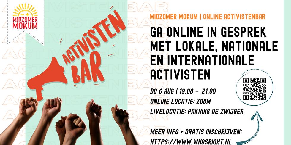 De Online Activistenbar