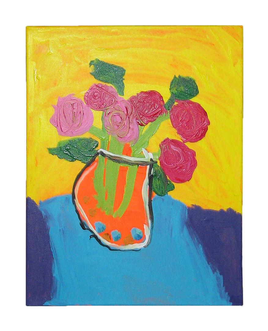 Colorful Flowers Still Life Masterpiece
