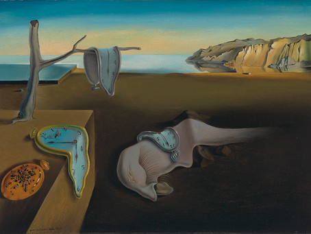 Dalí's Drooping Dream Art