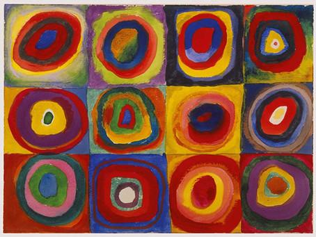 Kandinsky's Sense-ational Art