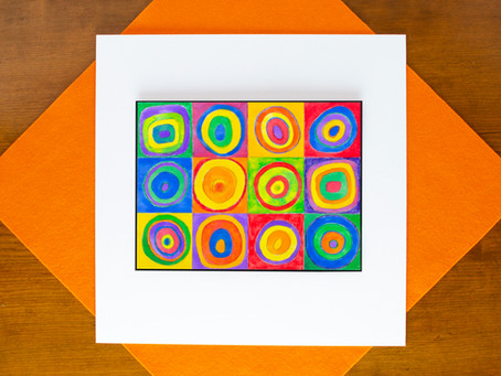 Painted Concentric Art