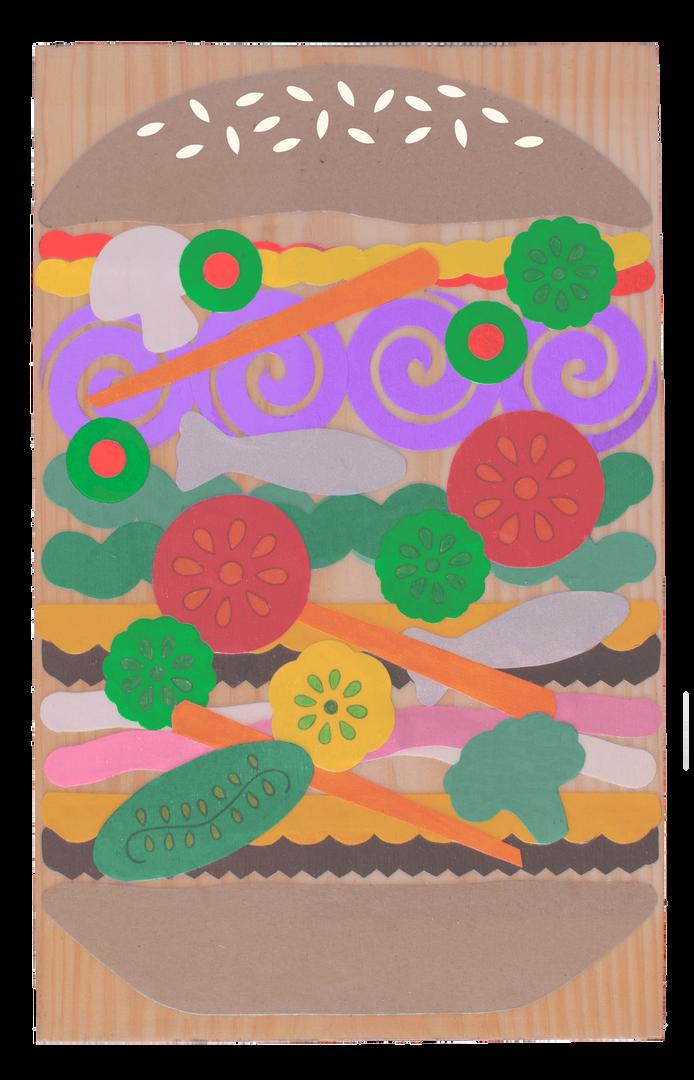 Matisse Inspired Dagwood Masterpiece