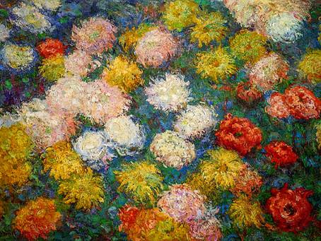 Monet's Artwork Blooms