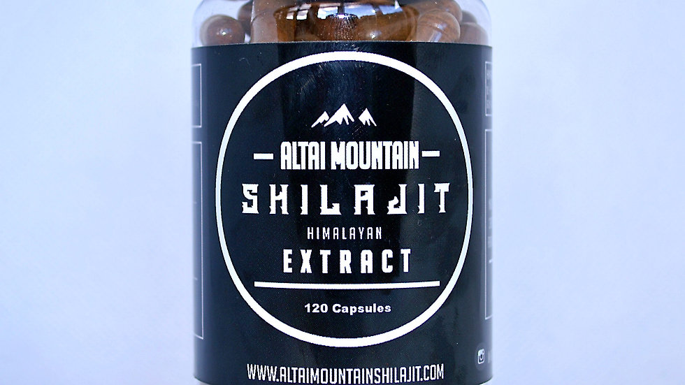 Altai Mountain Shilajit Himalayan Extract