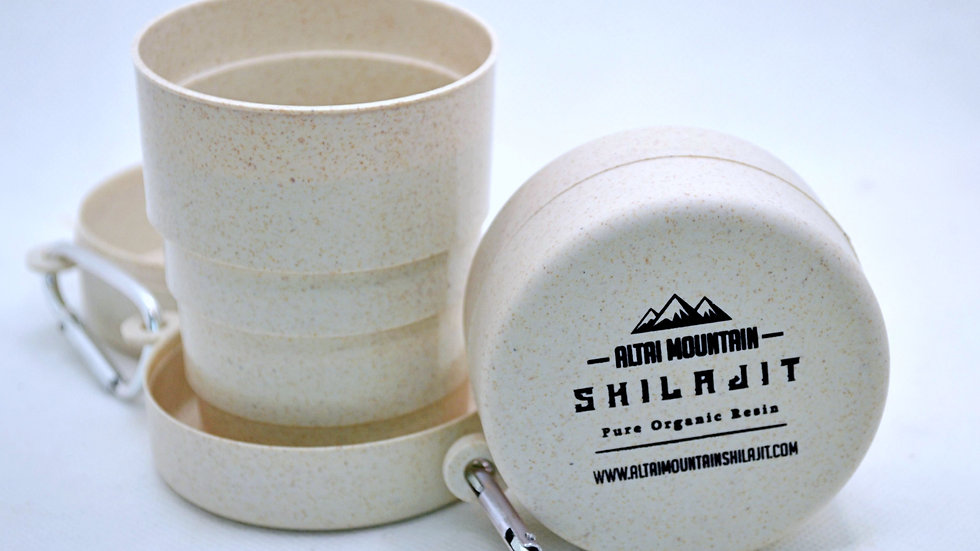 Collapsible Bamboo Travel Cup