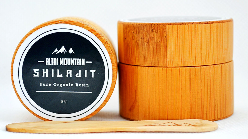 Altai Mountain Shilajit Resin - 10g